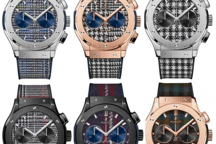 Hublot, Lapo Elkann and Rubinacci Refit the Classic Fusion Watch