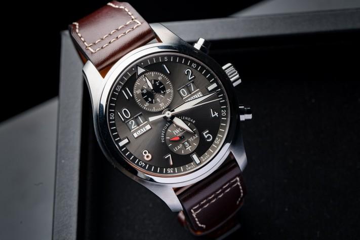 Watch of the Week: IWC Pilot's Watch Perpetual Calendar Digital Date-Month Spitfire