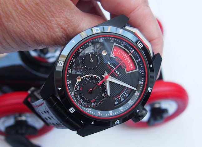 Close-Up with the Montblanc TimeWalker Chronograph 1000 Limited Edition 18 Watch