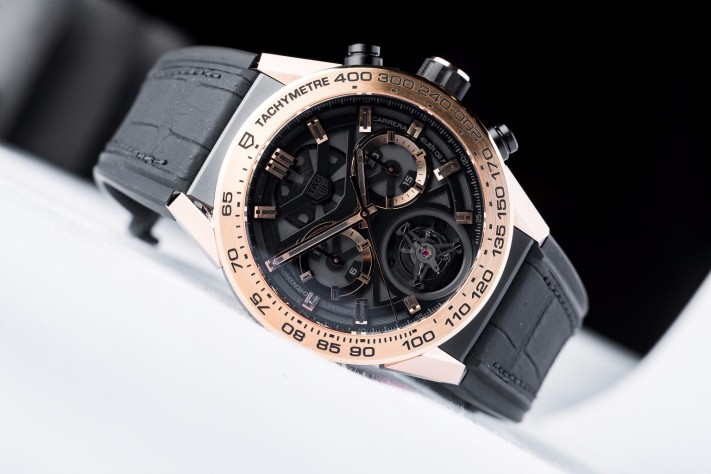 Tag Heuer Carrera Heuer 02-T 45 mm Automatic Chronograph with Tourbillon