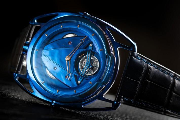 Haute Complication: De Bethune DB28 Kind of Blue Tourbillon