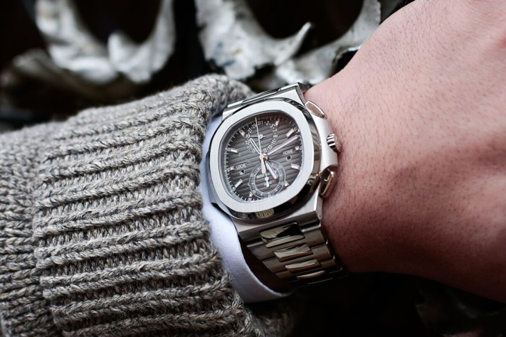 Watch of the Week: Patek Philippe Nautilus Travel Time Chronograph