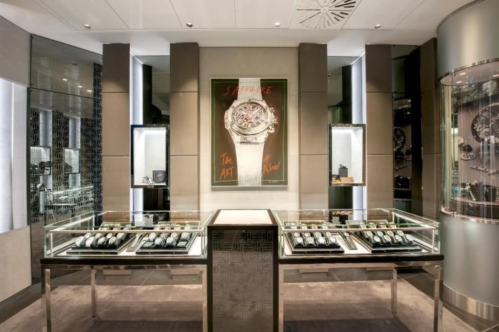 Hublot Relaunches Harrods Boutique, Boasts Innovative Design