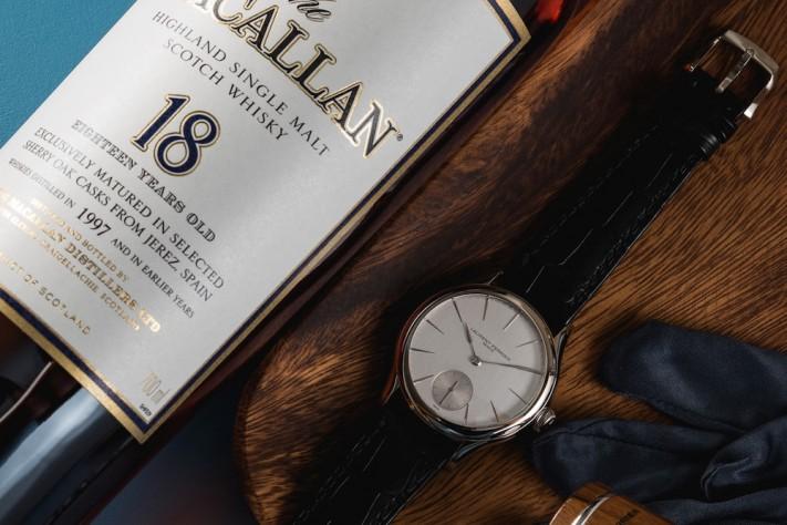 Watches & Whisky: Macallan 18 + Laurent Ferrier