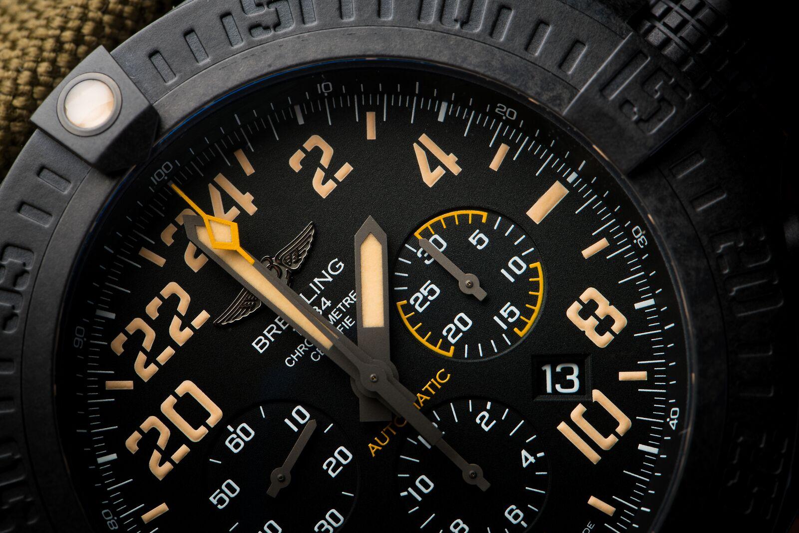 Breitling Avenger Hurricane Military