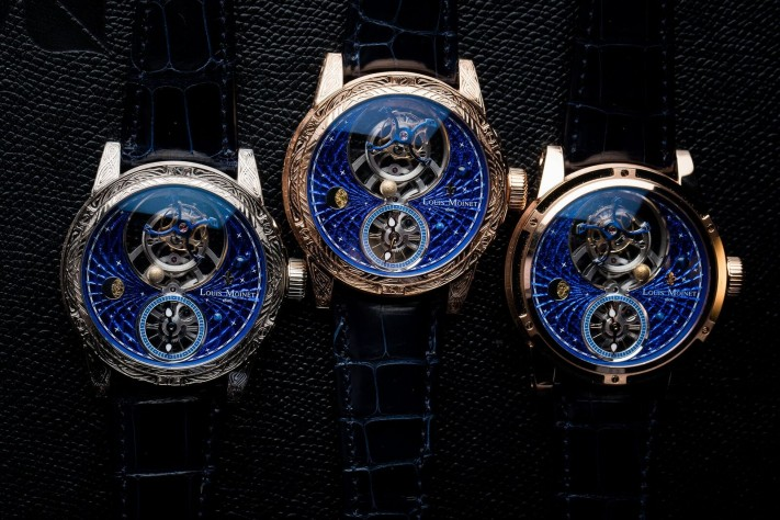 Four Remarkable New Tourbillons