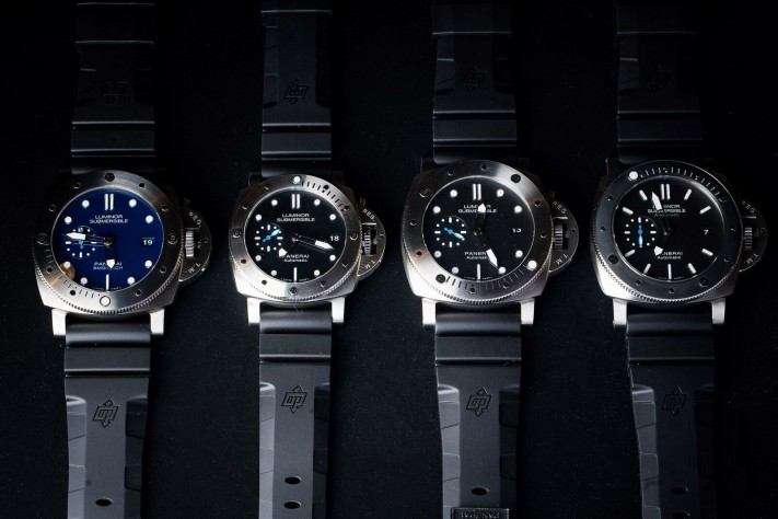 Panerai Luminor Submersible: The New Draft