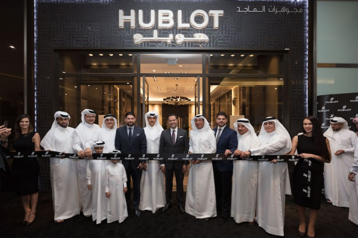 Hublot Continues Middle East Expansion with Doha Boutique