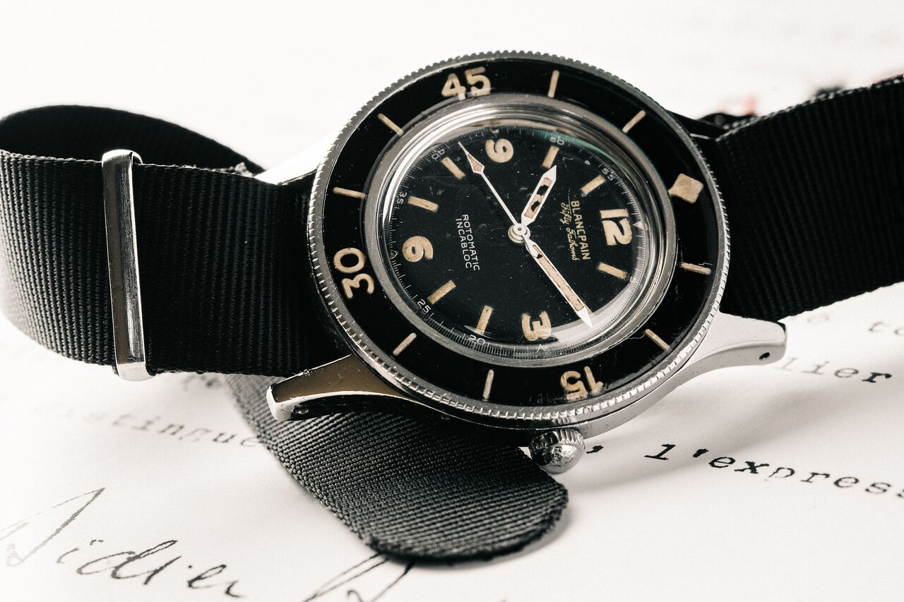 The First Blancpain Fifty Fathoms