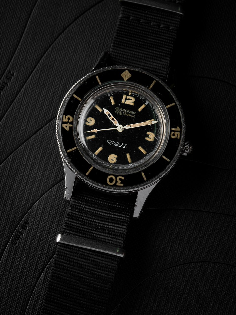 Blancpain's Fifty Fathoms was based on many of the criteria that later would become part of the ISO 6425