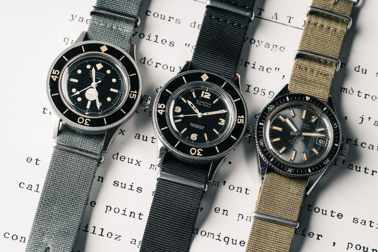 The Fifty Fathoms became a legacy in diving watches that continues up until today