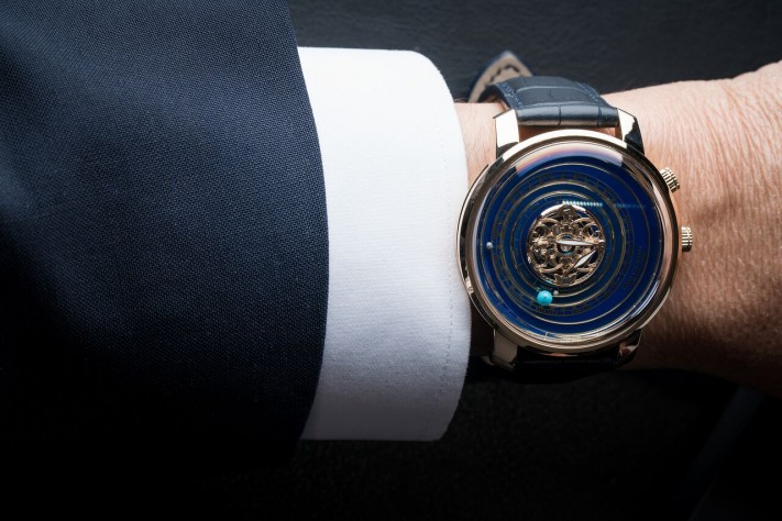 Haute Complication: The Magical Details Of The Geo Graham Orrery Tourbillon