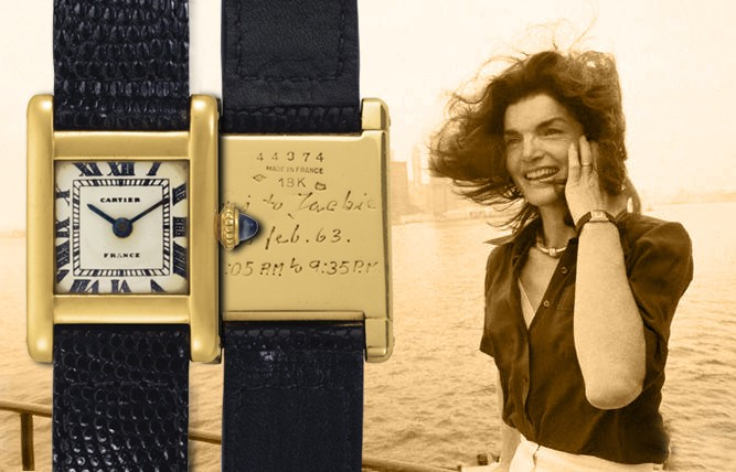 Jackie Kennedy's Cartier Tank Normale Up For Auction