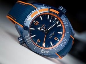 "Watch of the Week: Omega Seamaster Planet Ocean ""Big Blue."""