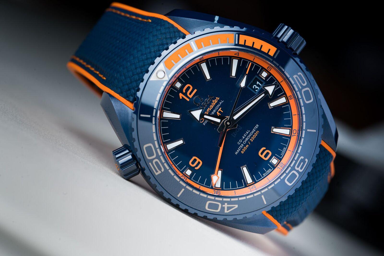 "Omega Seamaster Planet Ocean ""Deep Blue"""