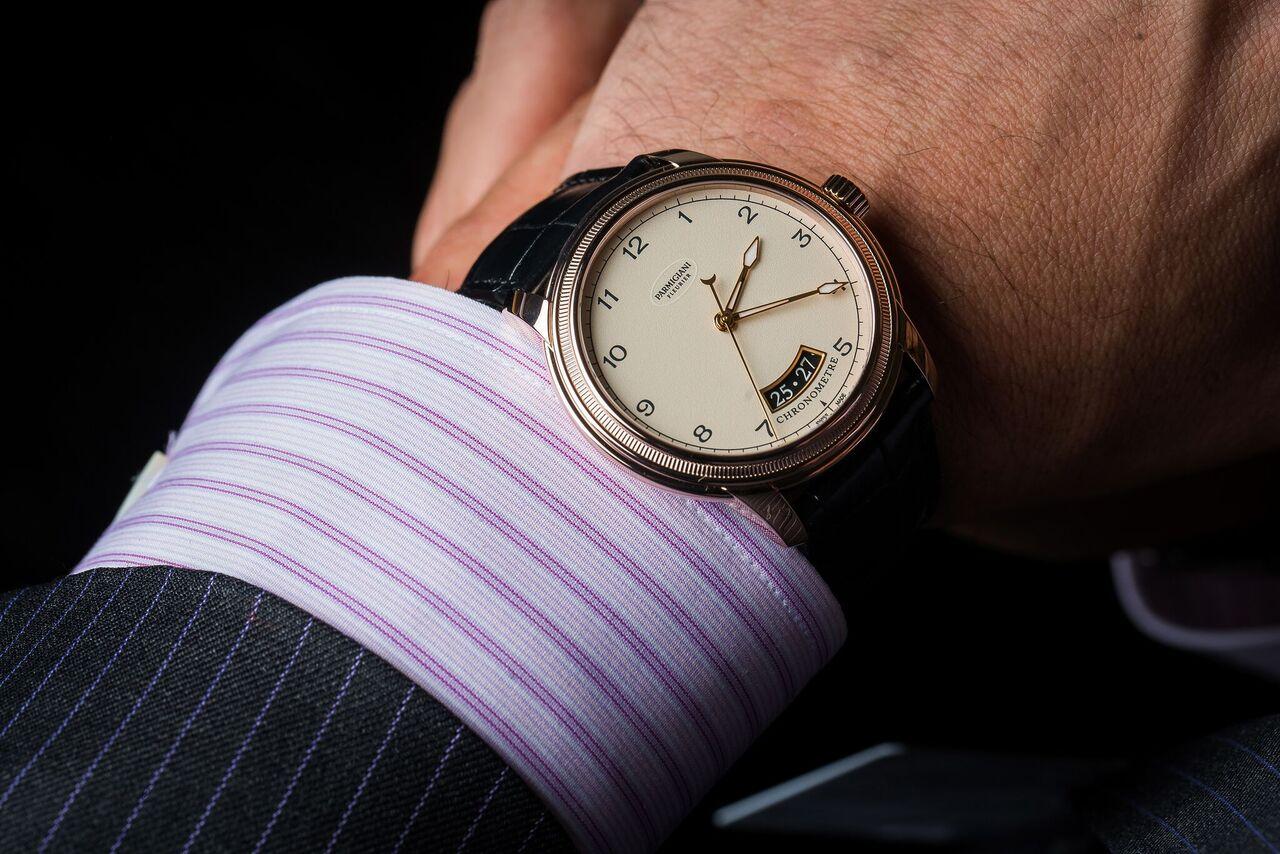 New Parmigiani Toric on the wrist