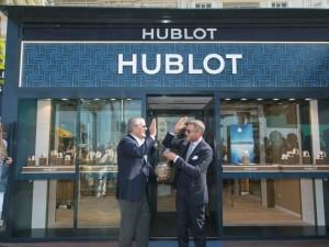 Hublot Opens Nautically Redesigned Cote D'Azur Stores, Unveils Big Bang Blue