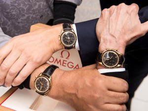 Omega Gifts Special Speedmaster Models to Science Award Winners Neil deGrasse Tyson & Creators and Cast of the hit series The Big Bang Theory