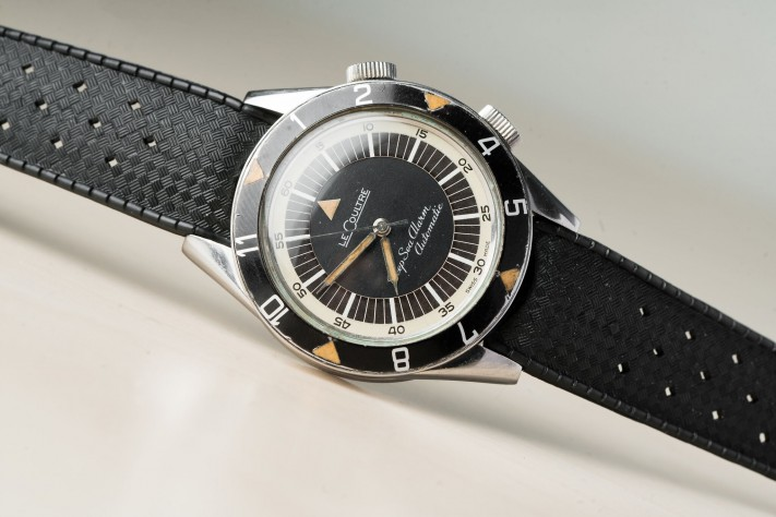 Hands-on With A Vintage Jaeger LeCoultre Deep Sea Alarm