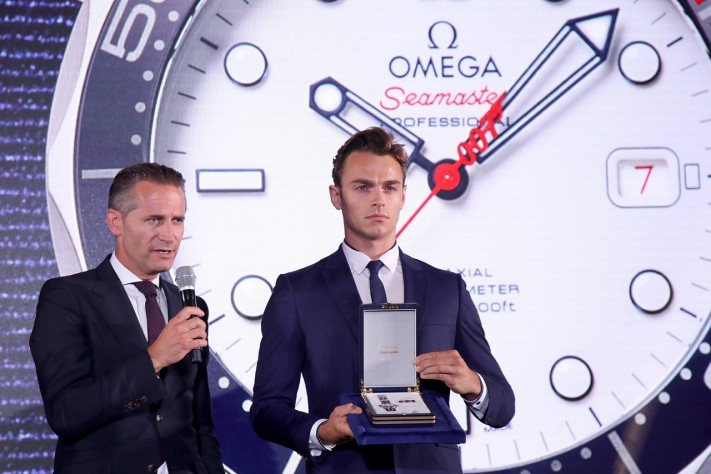 "Omega Reveals Seamaster Diver 300M ""Commander's Watch"""