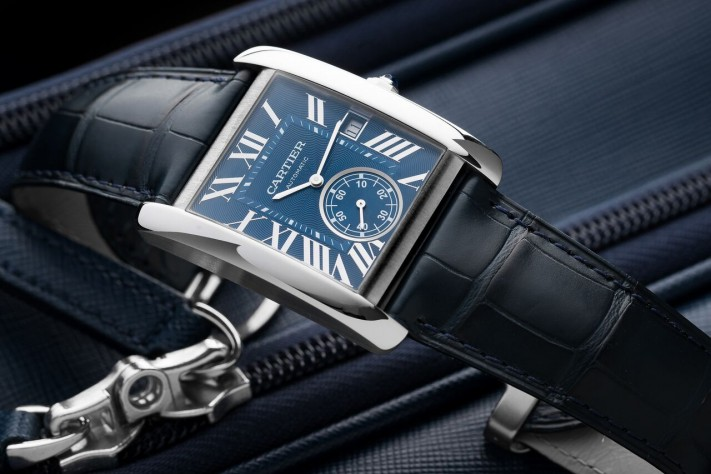 The Casual Cool Of The Cartier Tank MC