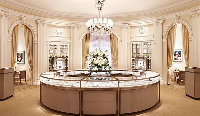 Cartier boutique interior