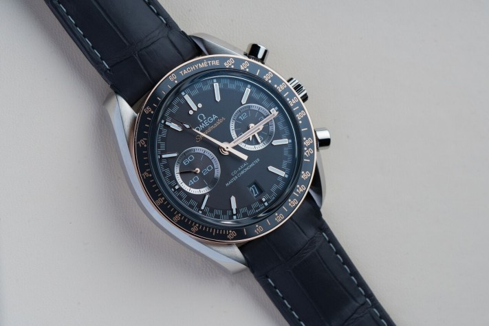 A Need For Speed: Omega Speedmaster Racing Master Chronometer