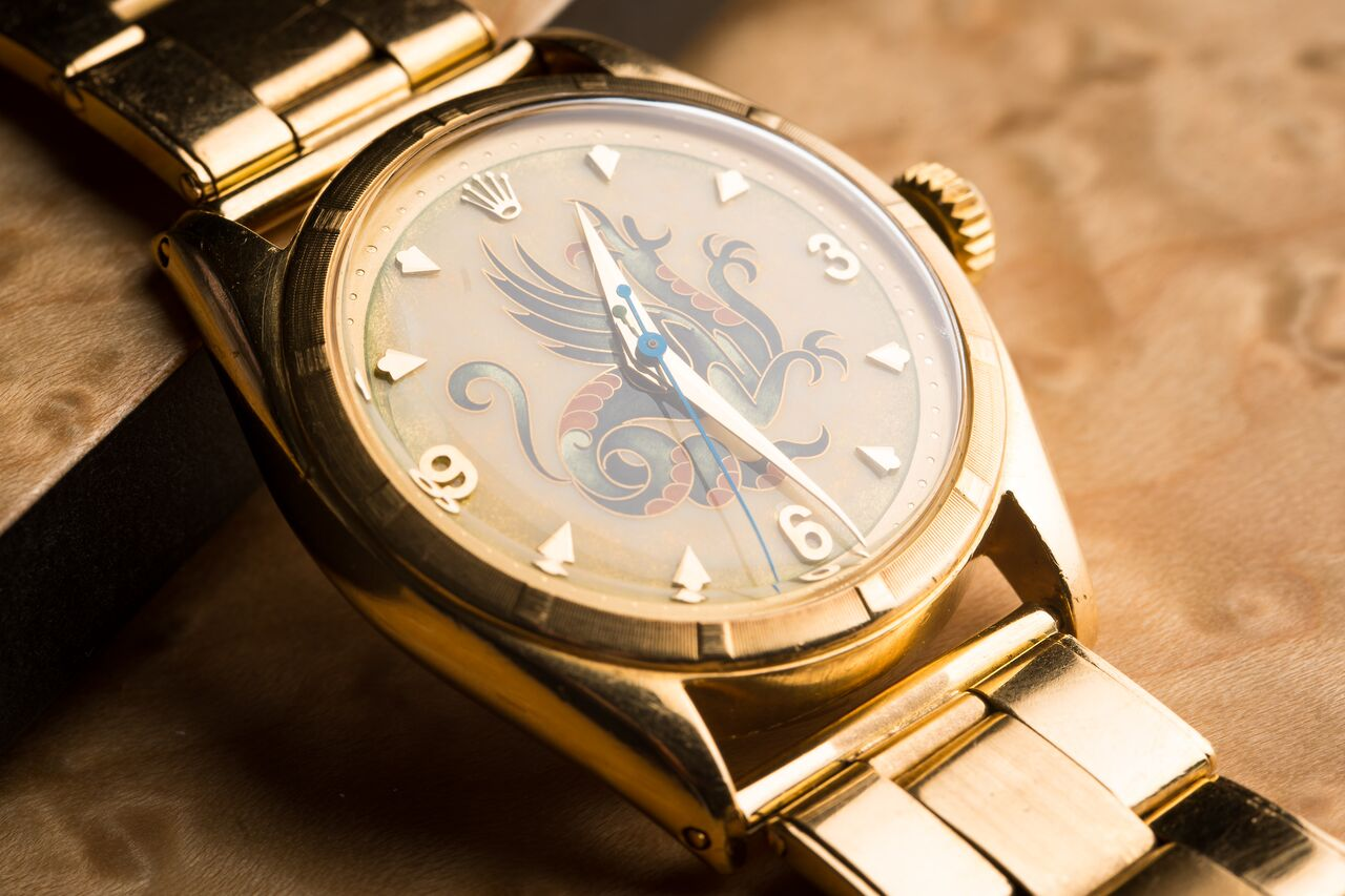 """Rolex ref. 6085 """"The Dragon"""""""