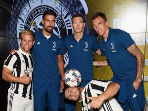 Hublot Welcomes Brand Partner Juventus Soccer Team in New York