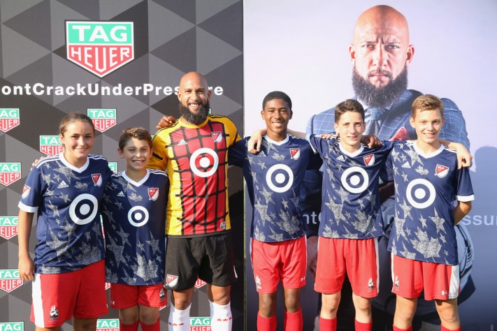 Haute Time Talks Watches With Soccer Star Tim Howard