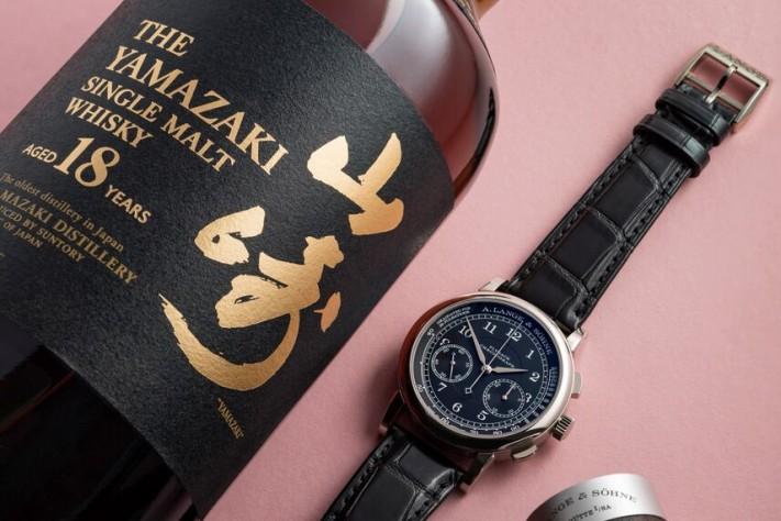 Watches & Whisky: Yamazaki 18 & Lange 1815 Flyback