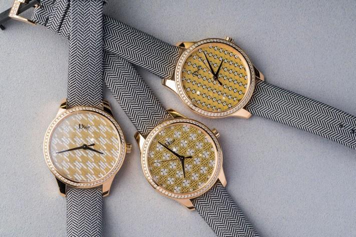 Dior VIII Montaigne Tissage Precieux: Haute Couture Wrist Candy