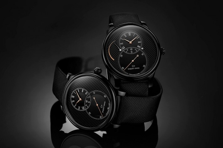 A Contemporary take on a Classic: Grande Seconde Ceramic by Jaquet Droz