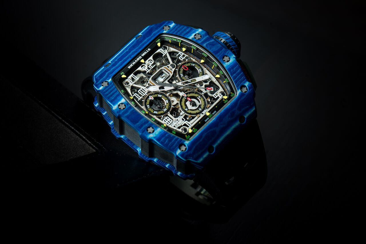 Richard Mille RM 11-03 Jean Todt with a case made of Quartz TPT