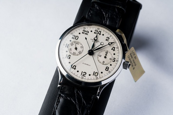 Throwback Thursday: Universal Genève Cairelli Split-Second Chronograph
