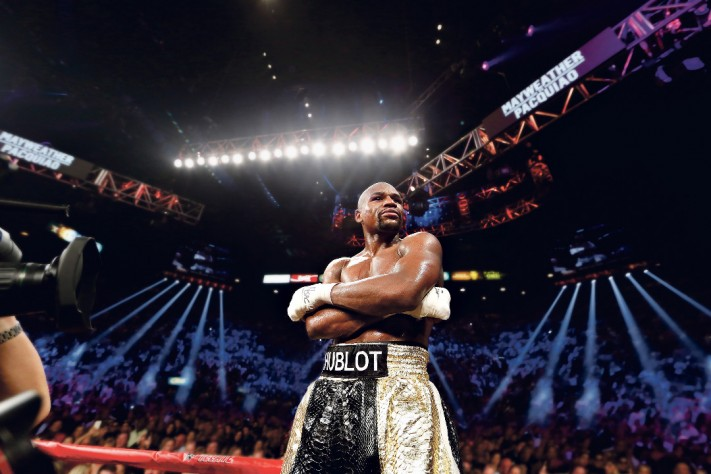Hublot Joins Floyd Mayweather Jr. In The Ring For Epic Fight