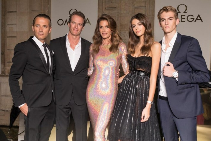 """Omega Opens """"Her Time"""" In Paris, Welcomes New Ambassadors Kaia and Presley Gerber"""