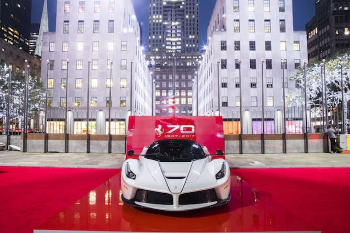 Ferrari Celebrates 70th Anniversary In New York City