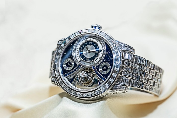 Drenched In Diamonds: The World's Most Exclusive, And Expensive, Diamond Set Watches