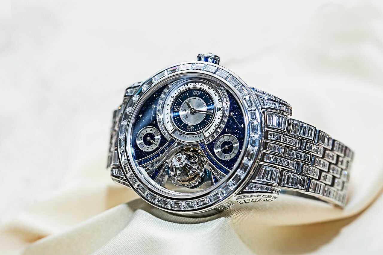 Jaeger-LeCoultre tourbillon diamonds