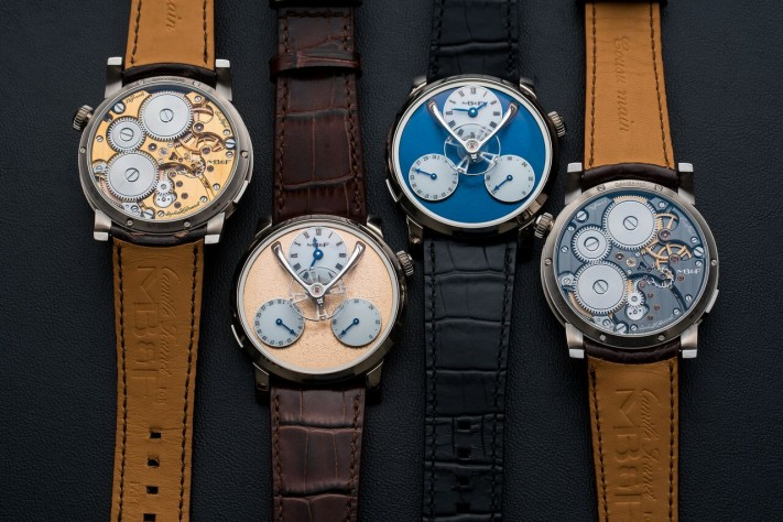 Hands-on With The New MB&F Legacy Machine Split Escapement