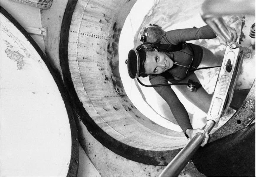 Marine biologist and Rolex Testimonee Sylvia Earle led the all-female Tektite II mission in 1970