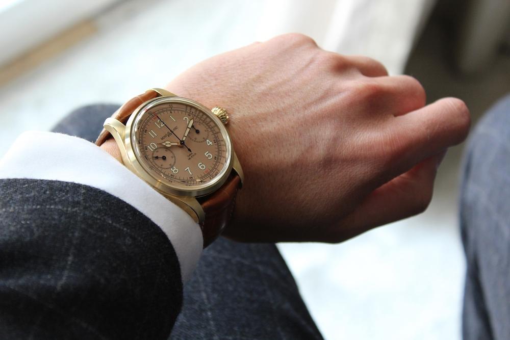 Montblanc 1858 Chronometre Tachymeter