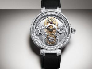 Louis Vuitton Presents Tambur Moon, The First Diamond-Encrusted Poinçon de Genève Pavée Watch