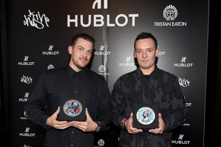 Hublot And Street Artists Hush And Tristan Eaton Celebrate Fame Vs. Fortune Art Concept