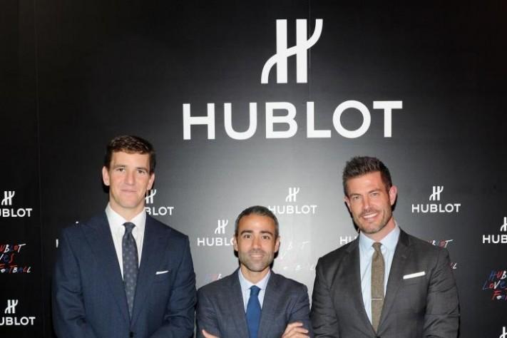 Hublot Announces Partnership With The New York Giants' Eli Manning