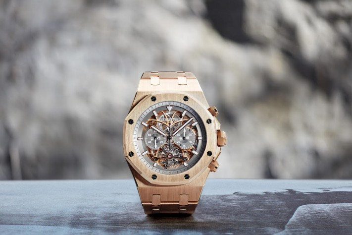 Material Good And Audemars Piguet Dream Up Two New Versions Of The Royal Oak Tourbillon Chronograph Squelette