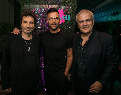 Haute Living's Private Hublot Loves Art Dinner Celebrating Ricky Martin At The PAMM For Art Basel Miami