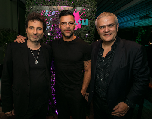 Richard Orlinski, Ricky Martin, Ricardo Guadalupe / Photo Credit: Getty Images for Haute Living
