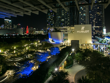 PAMM takeover Courtesy of Hublot